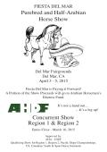 Premium - Tierra Del Norte Arabian Horse Association