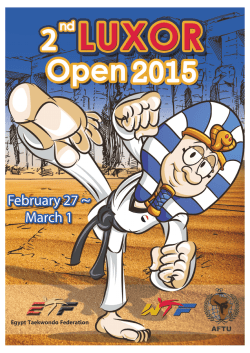 luxor open 2015 invitation - MA