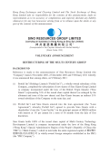SINO RESOURCES GROUP LIMITED 神州資源集團