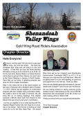 February 2015 Newsletter - GWRRA, Virginia Chapter R, Homepage