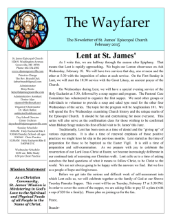 Download PDF For more - St. James Episcopal Church