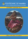 DOS Activities Calendar 2015 - Polytechnic of Namibia | Student