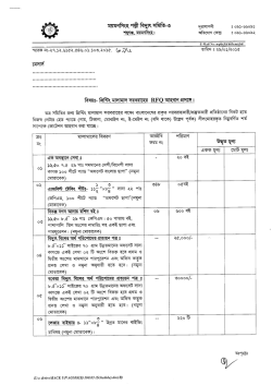 Tender of Printing Materials - Mymensingh PBS-3