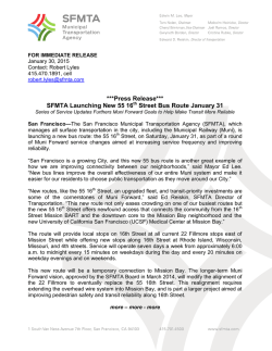 2014 SFMTA Color Letterhead