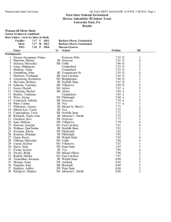 Day One Results - Miami University Athletics