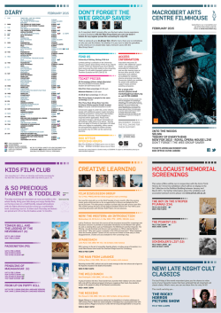 Latest Cinema Guide