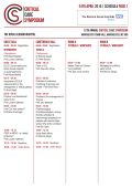 Programme 24 April 2015 - Critical Care Symposium