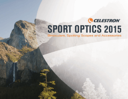 Sport Optics 2015 Catalog