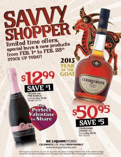 Check out our Savvy Shopper Flyer here