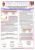 PMD EXPRESS February 2015 - Archdiocese of Santa Fe Youth