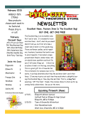 NEWSLETTER - Pyro City Maine Fireworks Store
