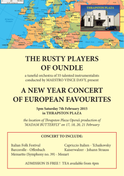 POSTER (pdf) - The Rusty Players of Oundle
