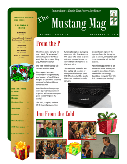 2014-Dec-19 Newsletter - Immaculata Regional High School