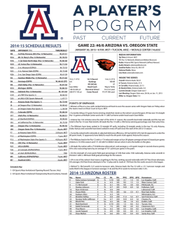 1-30-15 (Oregon State).indd - Oregon State University Athletics