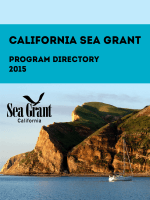 Currently funded projects (2015 Program Directory)