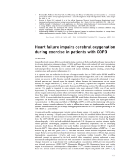 Heart Failure impairs Cerebral Oxygenation in pati