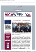 VICA WEEKLY - Valley Industry and Commerce Association