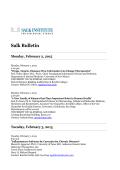 Salk Bulletin - Salk Institute for Biological Studies