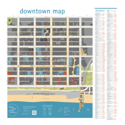 Walking Map - Downtown Santa Monica and the Third Street