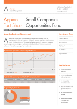 here - Appian Asset Management