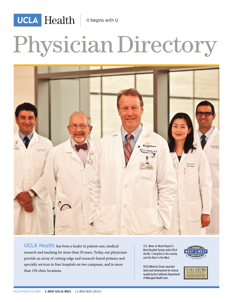 UCLA Physician Directory