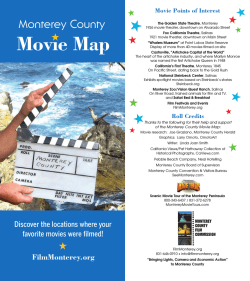Movie Map - Monterey County Film Commission
