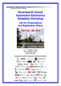 2015 AEC Reliability Workshop - Call for Presentations (pdf)