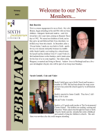 Jan.-Feb. 2015 Newsletter - Sixth Presbyterian Church of Pittsburgh