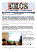 Newsletter - Central Kentucky Computer Society
