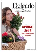 SPRING 2015 - Delgado Community College