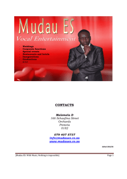click here : MUDAUES MUSIC PROFILE