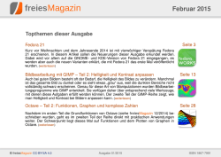 PDF-Version - freiesMagazin