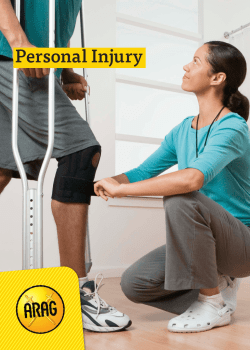 Guide To Personal Injury