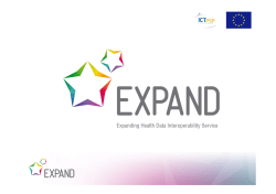 EXPAND liaison with eHealth Network