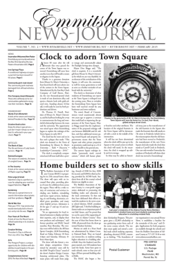 Home builders set to show skills Clock to adorn