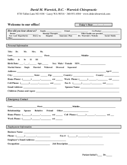 Download Patient Form