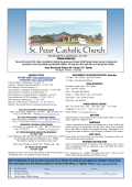 Download Latest (PDF) - St Peter Catholic Church