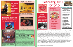 working february newsletter 2015