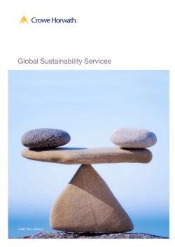 Global Sustainability Services