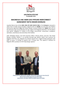 Magnolia LNG signs Gas Pipeline Interconnect Agreement