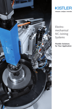 Brochure, Electromechanical NC Joining Systems