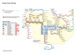 Buses from Shirley - Transport for London