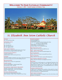St. Elizabeth Ann Seton Catholic Church