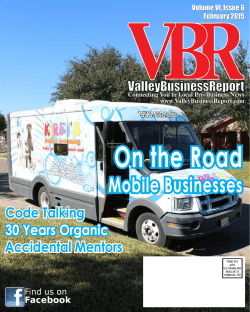 Mobile Businesses - Valley Business Report
