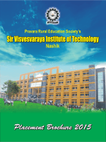 Placement Brochure - Pravara Education