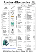 Price List - Anchor Electronics