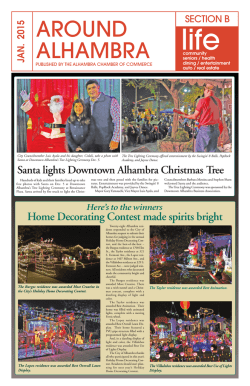 January 2015 Section B - Alhambra Chamber of Commerce