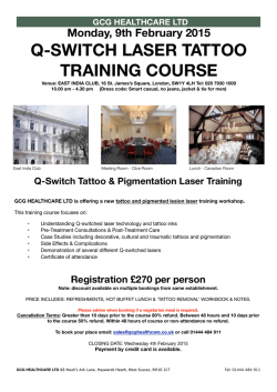 Course Info - GCG Healthcare