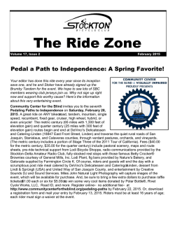 The Ride Zone - Stockton Bike Club