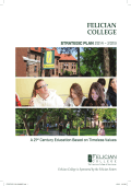 Strategic Plan - Felician College